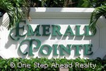 Emerald Pointe community sign