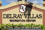 Delray Villas community sign